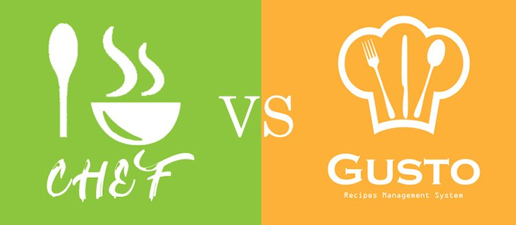 I-Chef recipes script  VS Gusto - recipes management system - What's the difference?