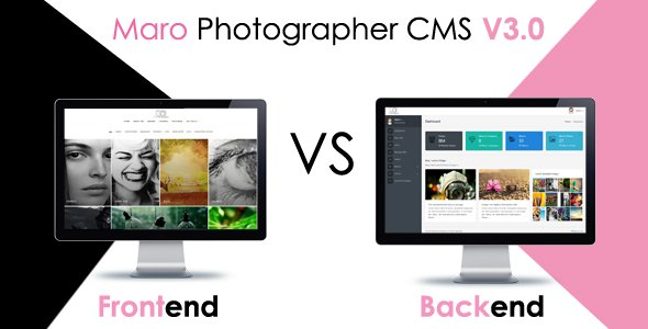Maro Photographer CMS