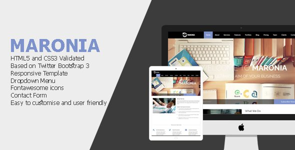 Maronia - Multi Purpose Responsive Template