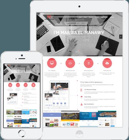 Services - Marwa El-Manawy  — Freelance Front-End UI/UX Developer